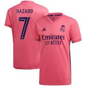 Real Madrid Eden Hazard Away Jersey